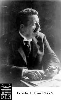 Friedrich Ebert President of Weimar Republic