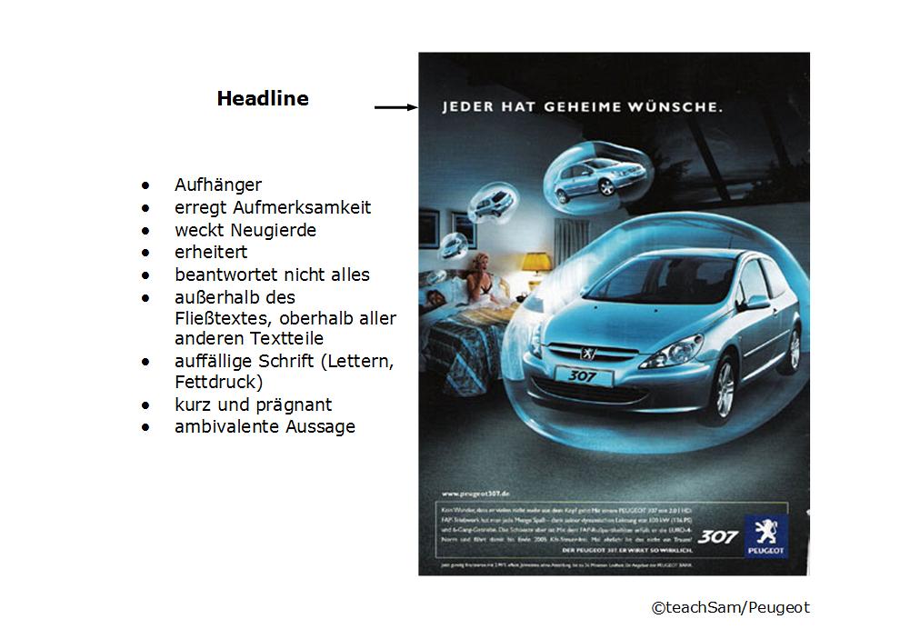 Uberblick Headline Anzeigenwerbung Werbeanzeige Werbung Werbeanalyse
